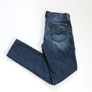7 for All Mankind Bootcut Dark Wash Jeans Sz 26